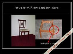 JET 3188 V BOX SEAT STRUCTURE